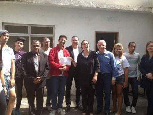 Übergabe einer Spende an das Projekt Nova Chance in Rio de Janeiro_2
